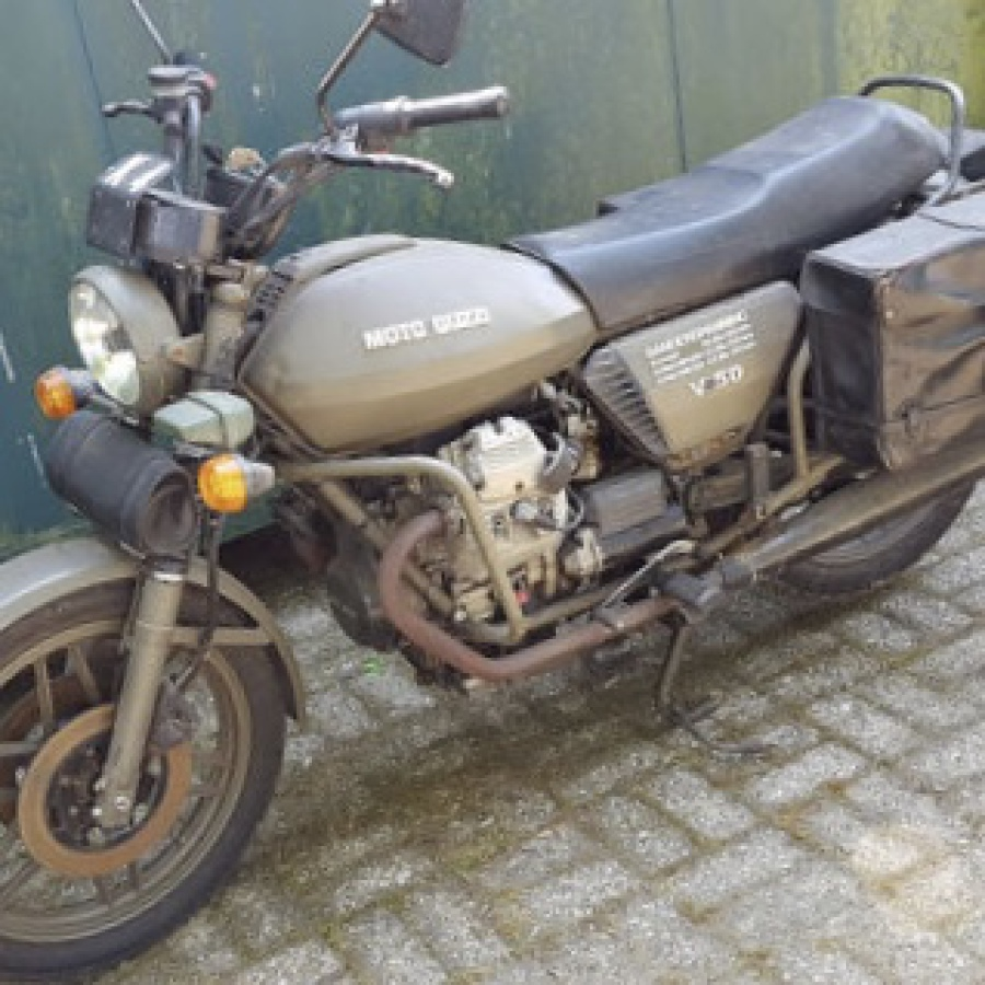Moto Guzzi  - V50 III - NATO - 490 cc von 1985
