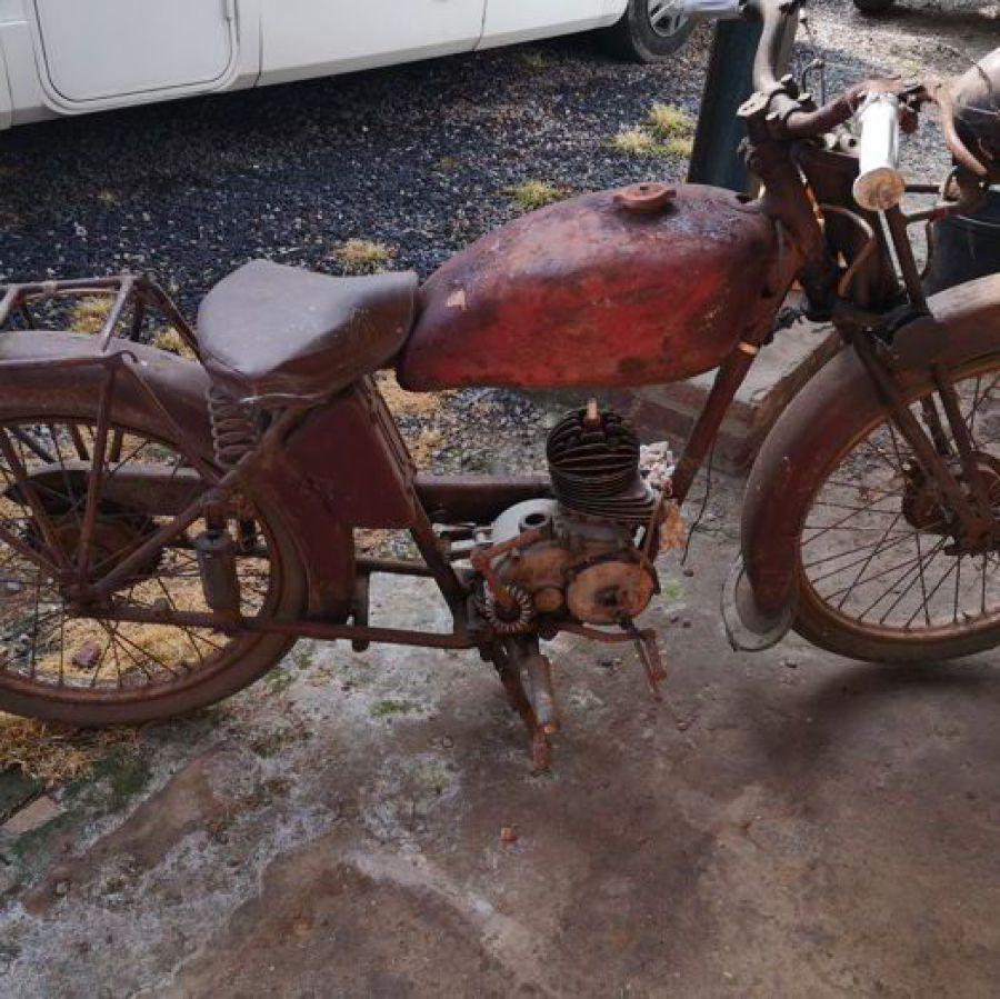 Jonghi Type T - 125cc 1913 von 1945 - 1949